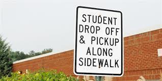 Information for Parents for Car Drop-off