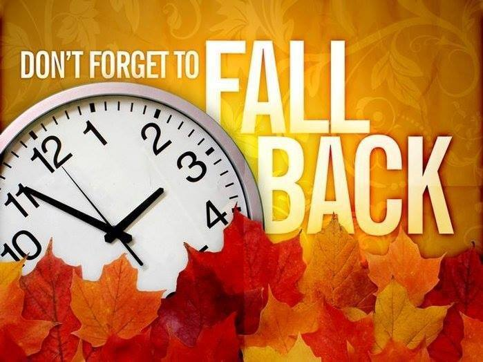 """Fall Back"" - Time Change"