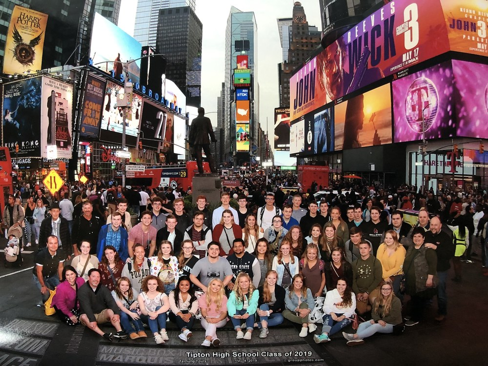 Class of 2019 NYC Senior Trip