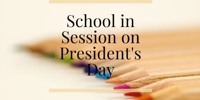 School is in Session - February 17
