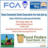 May 7 - Food Pick-Up