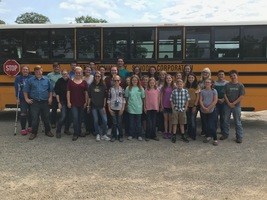 Tipton FFA & 4-H Compete at Area Career Development Events