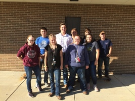 THS FFA Members Attend District V FFA Kickoff