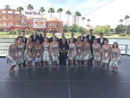 YOs Perform at Universal Studios