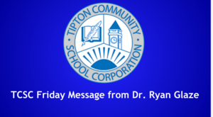 Friday Message from Dr. Ryan Glaze