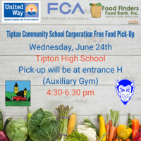 Free Food Pick-up - June 24