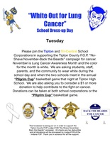 White Out for Lung Cancer