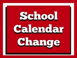 School Calendar Changes