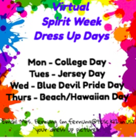 Virtual Spirit Week 2 Dress Up Days