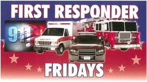 Oct 4 - First Responder Friday