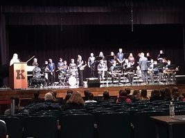 THS Jazz Ensemble Gets Gold!