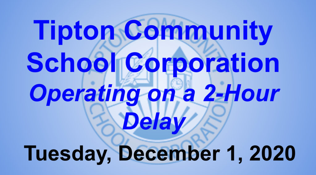 TCSC Two Hour Delay