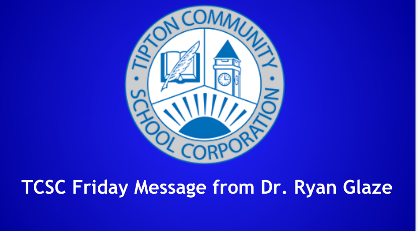 A Message from Tipton Community Schools Corporation