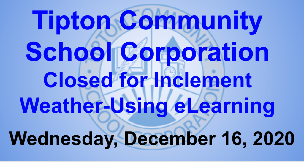 TCSC Closed Wednesday, December 16