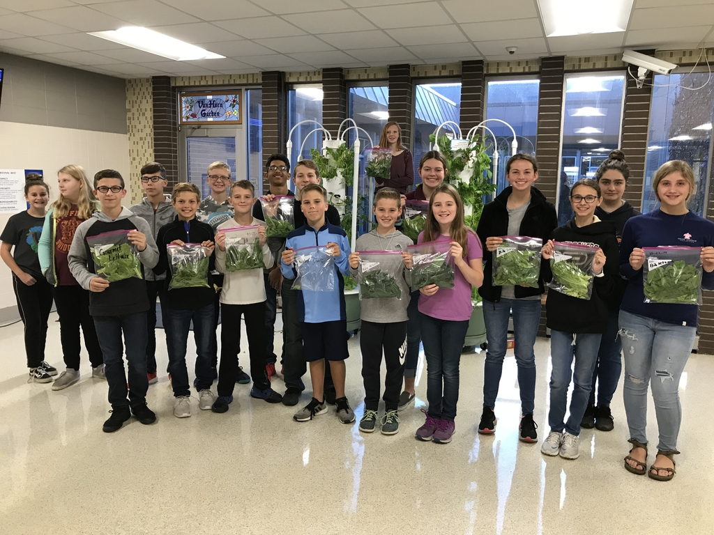 7th grade ag students