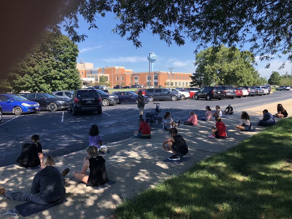 Learning outside!