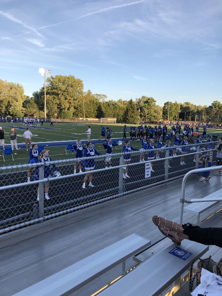 Cheering on the Blue Devils!