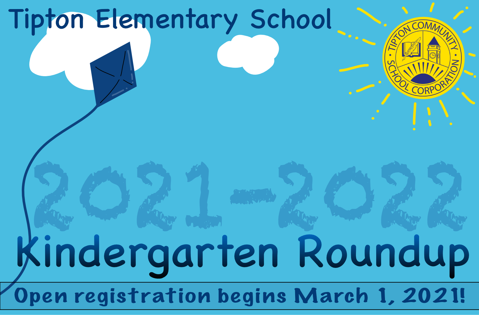 Registration begins March 1, 2021