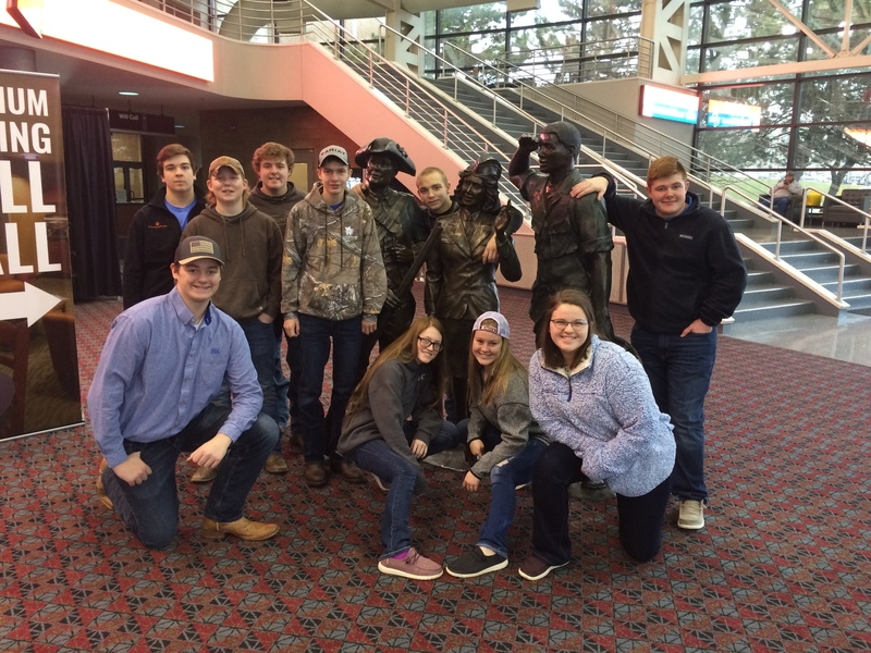 THS FFA members Attend the Fort Wayne Farm Show